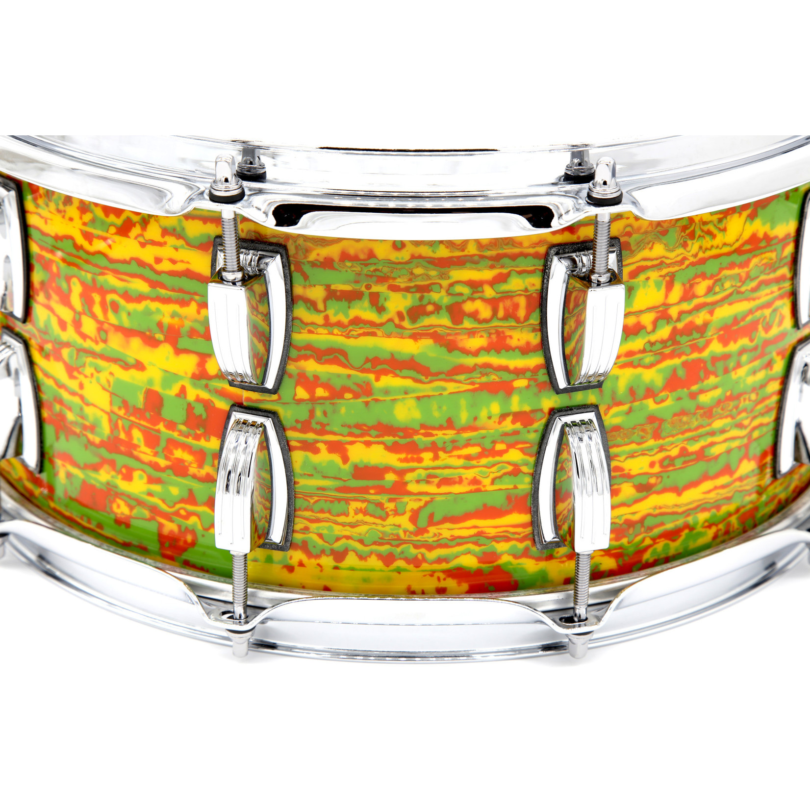 Ludwig LUDWIG CLASSIC MAPLE 6.5X14 SNARE CITRUS MOD