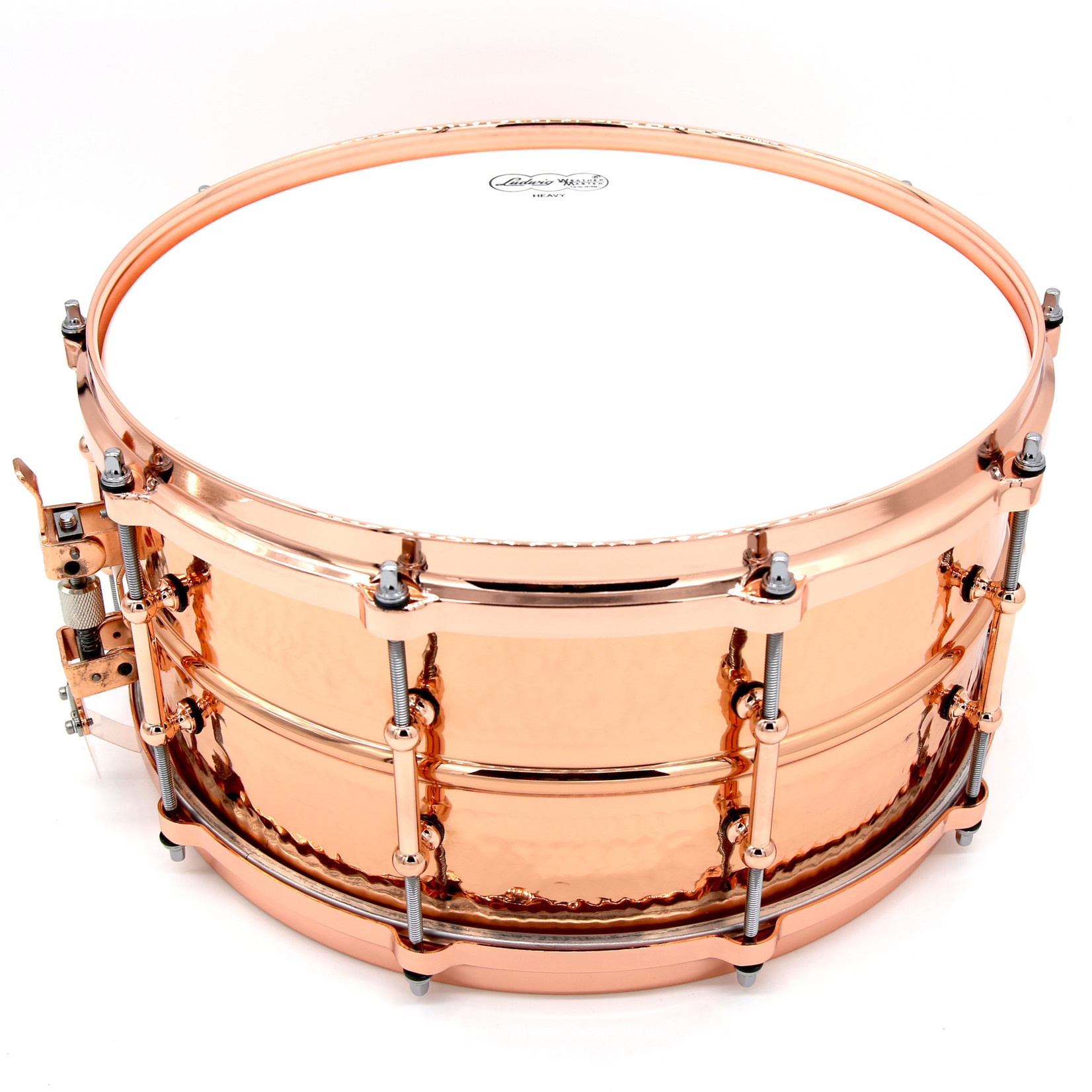 Ludwig LUDWIG COPPERPHONIC HAMMERED W/TUBE LUGS COPPER HARDWARE LC662KTC