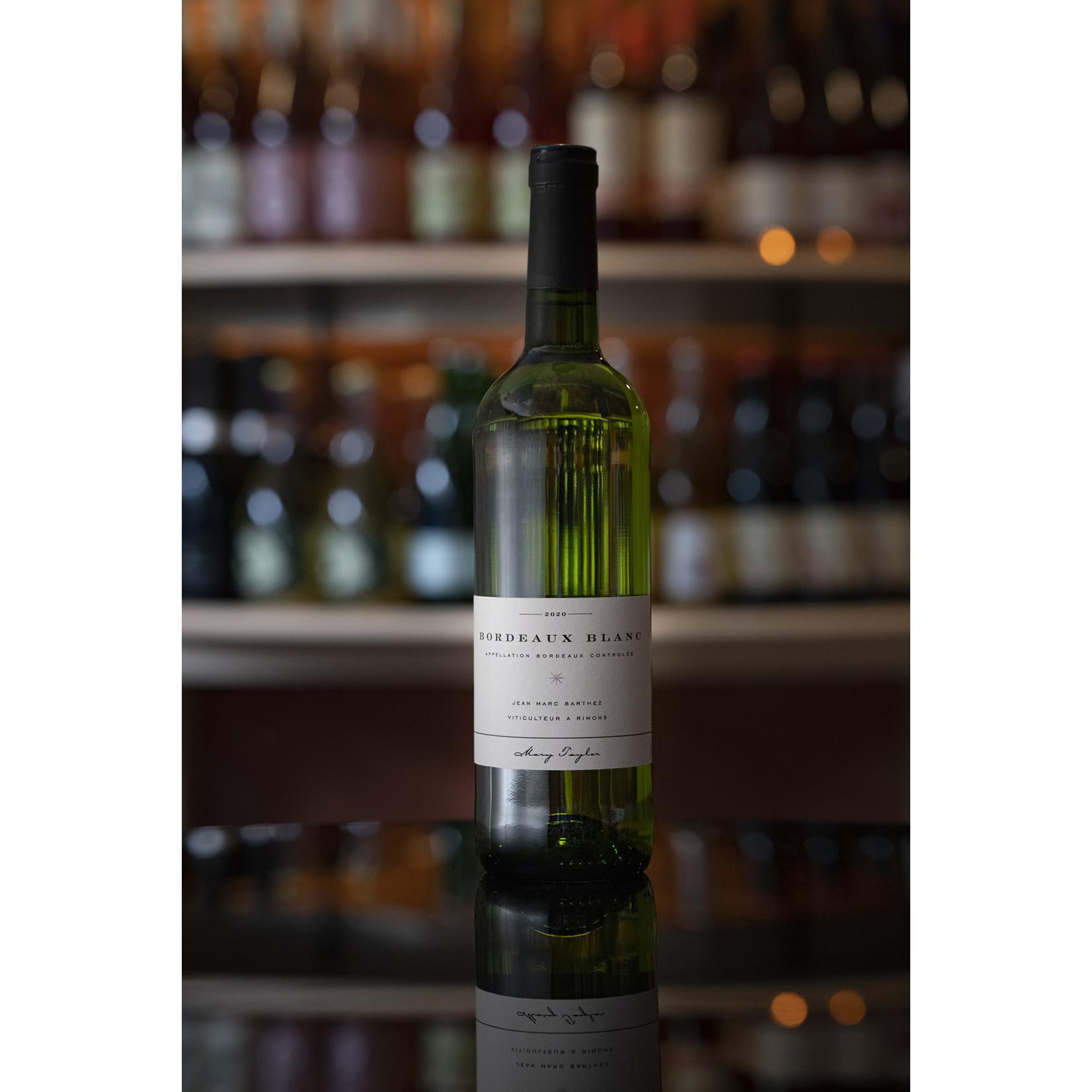 2020 Sauvignon Blanc, Jean Marc Barthez Bordeaux Blanc
