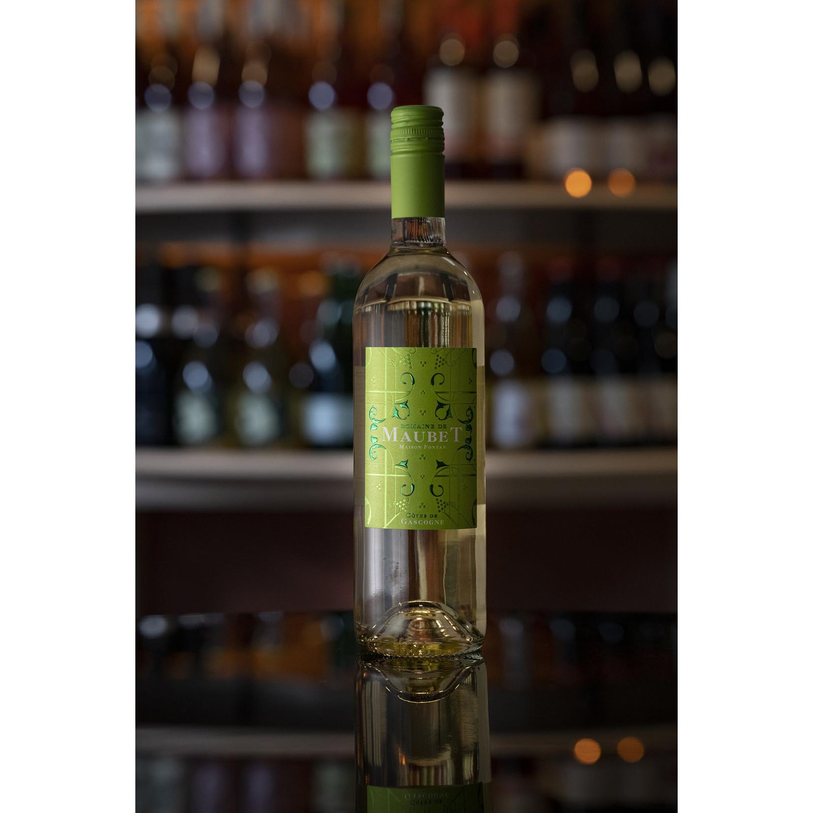 2019 Colombard blend, Domaine de Maubet Côtes de Gascogne Blanc Sec