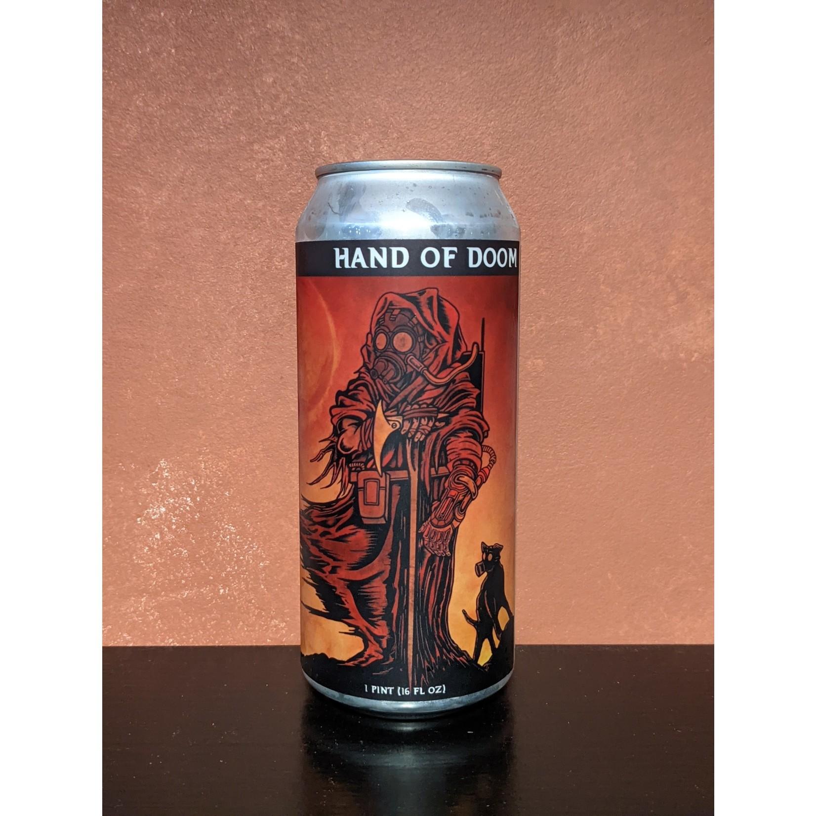 "Four Phantoms ""Hand of Doom"" Oatmeal Stout Can"