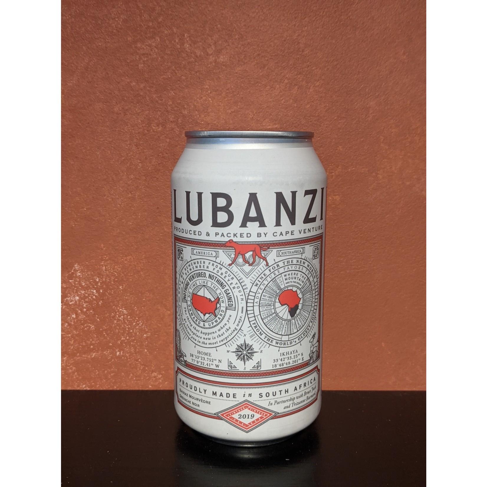 Lubanzi Red Blend 375 mL Cans single