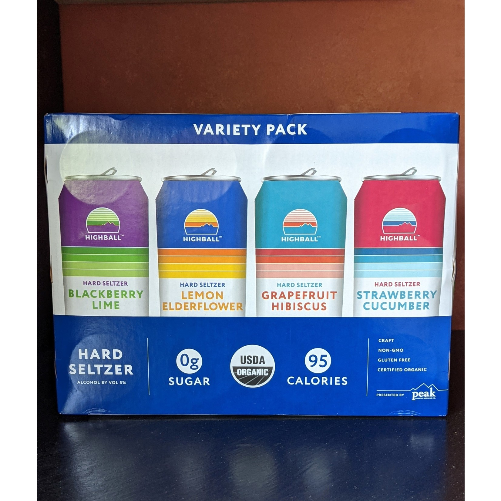 Highball Seltzer Variety 12-Pack