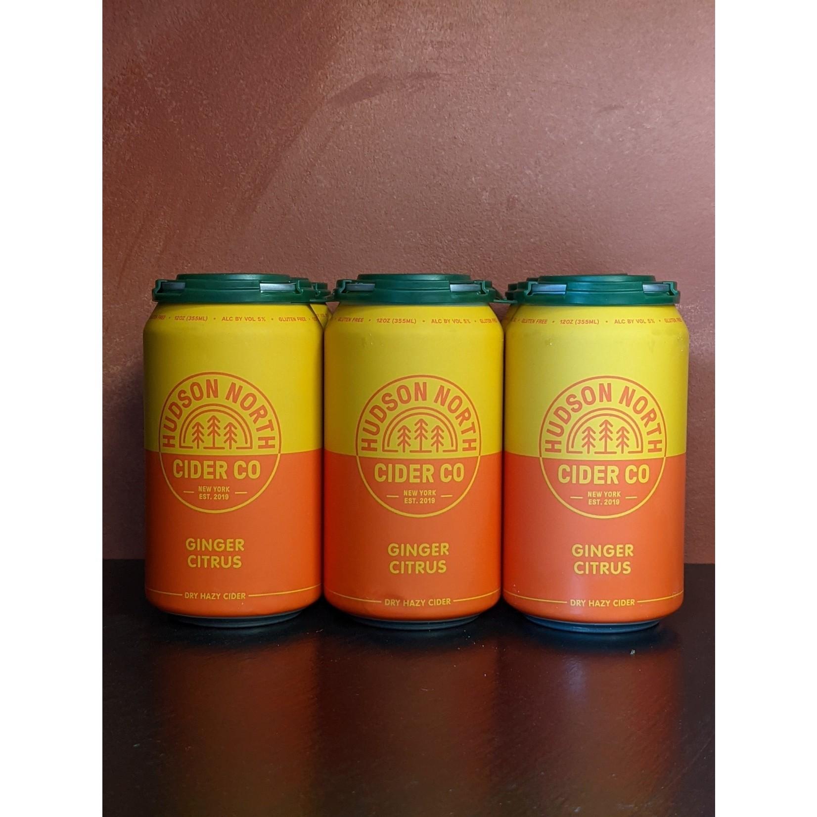 """Hudson North """"Ginger Citrus Cider"""" 6 Pack"""