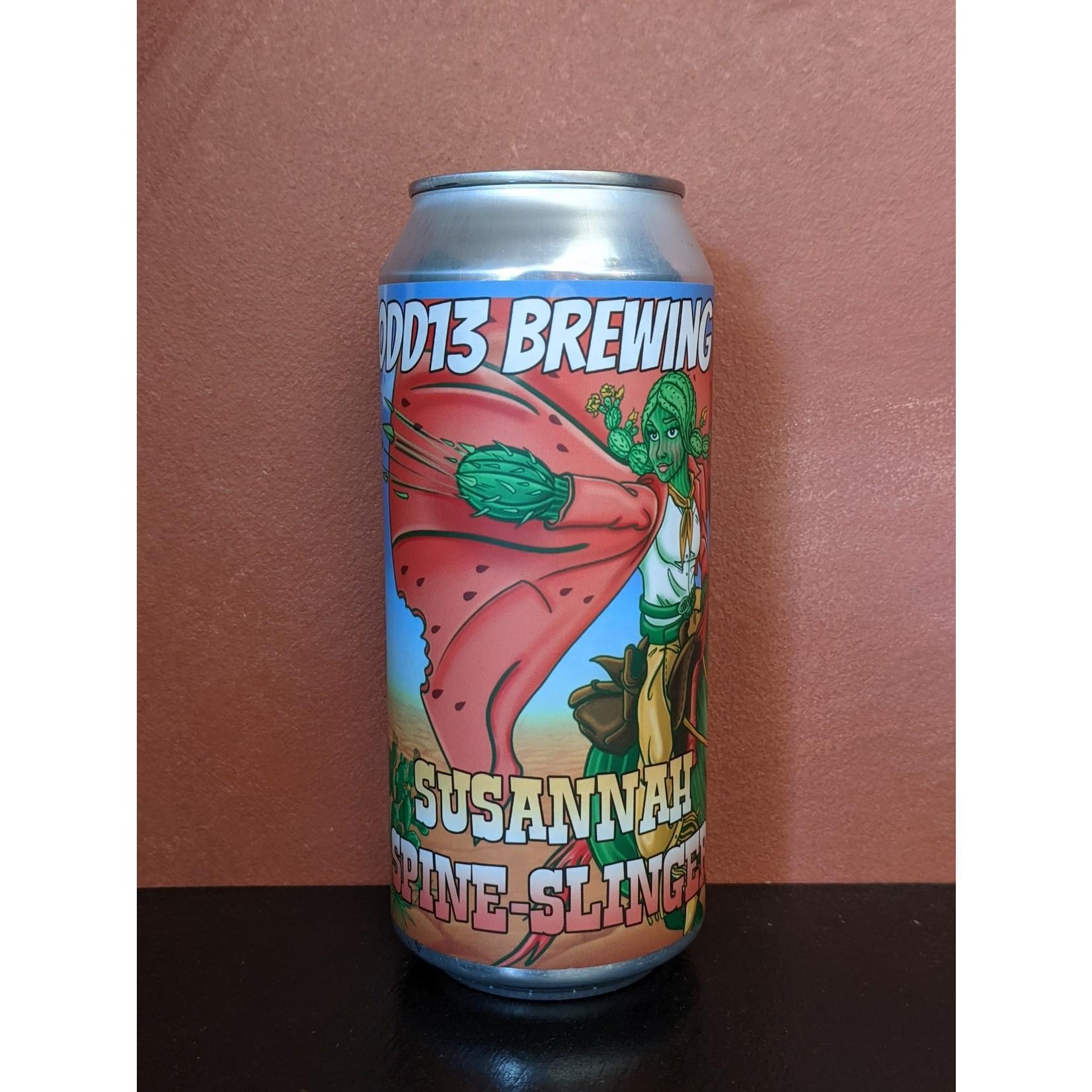 "Odd13 ""Susannah Spine Slinger"" Sour W/ Watermelon, Prickly Pear, Vanilla CAN"
