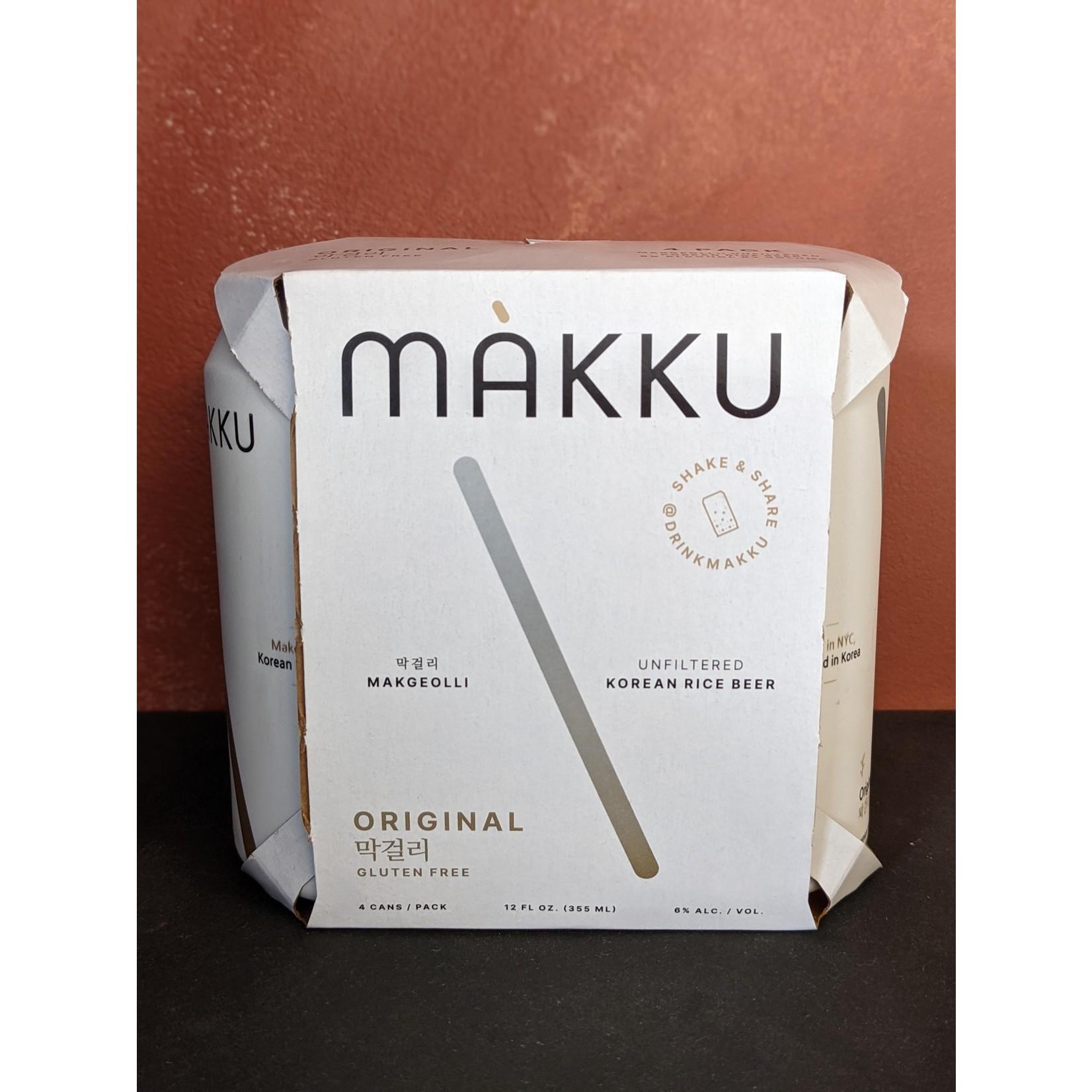 """Makku """"Original"""" Korean Rice Beer 4-Pack"""