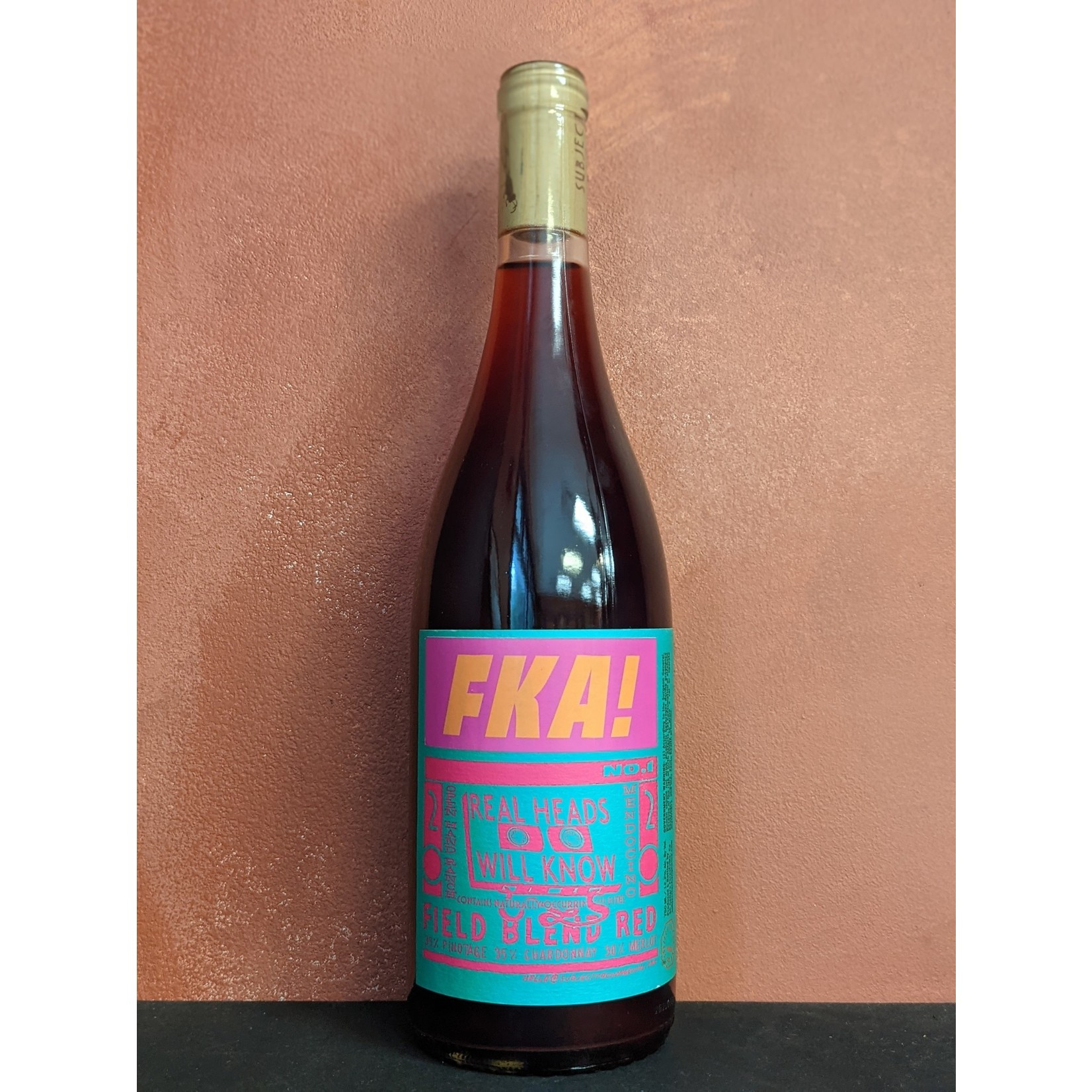 """2020 Pinotage Blend, Subject to Change """"Mix Tape Field Blend"""""""
