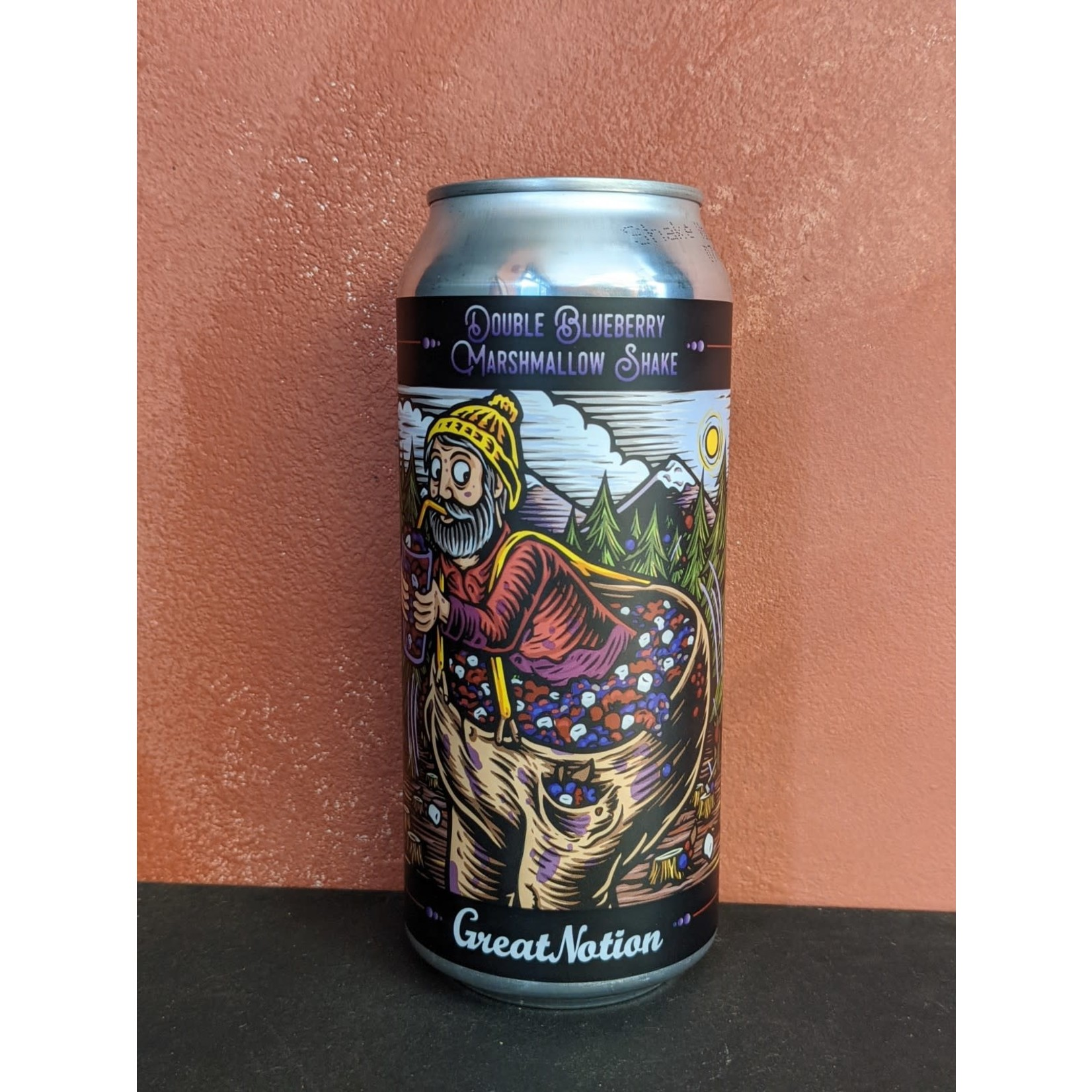 """Great Notion """"Double Blueberry Marshmallow Shake"""" Sour CAN"""