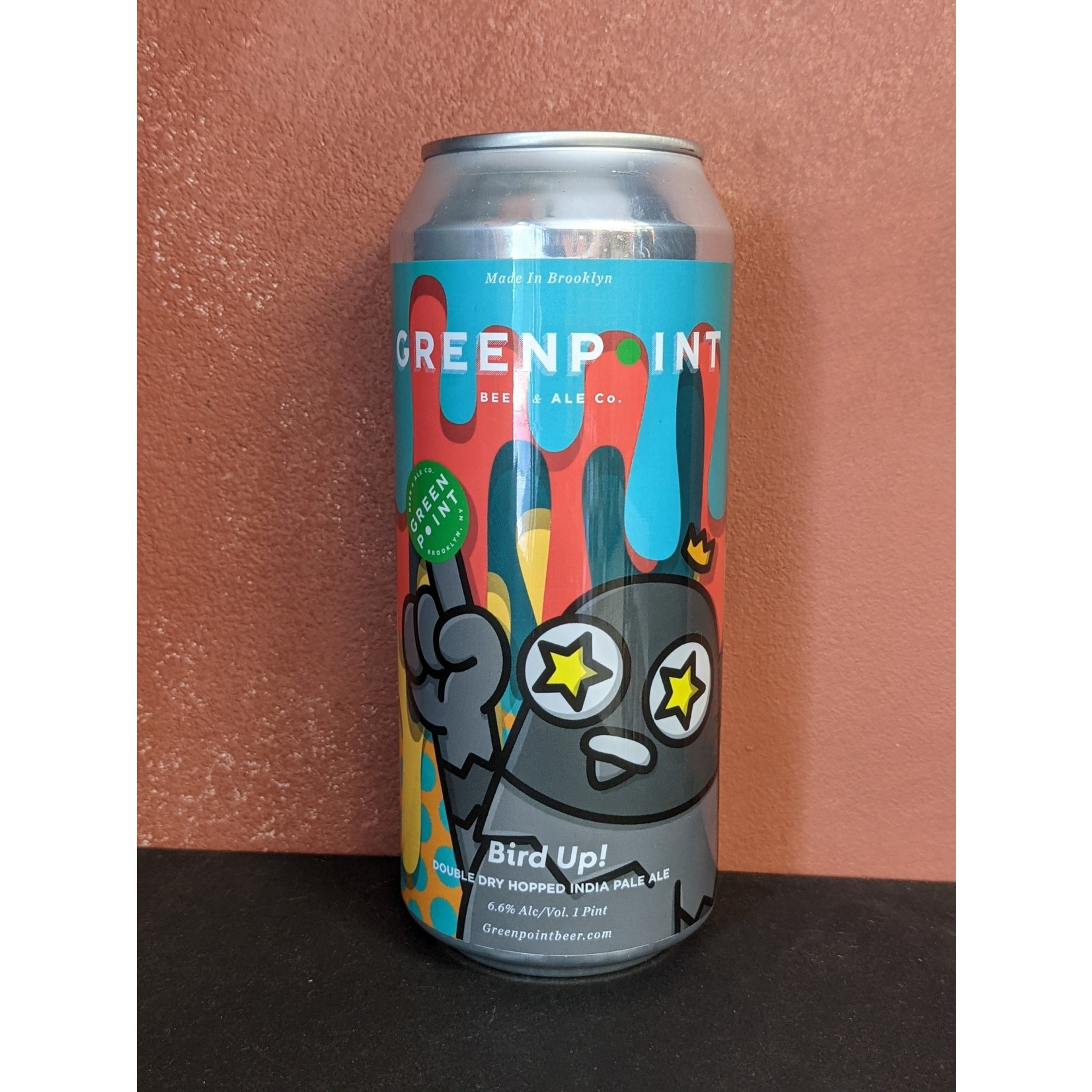 """Greenpoint """"Bird Up"""" IPA CAN"""