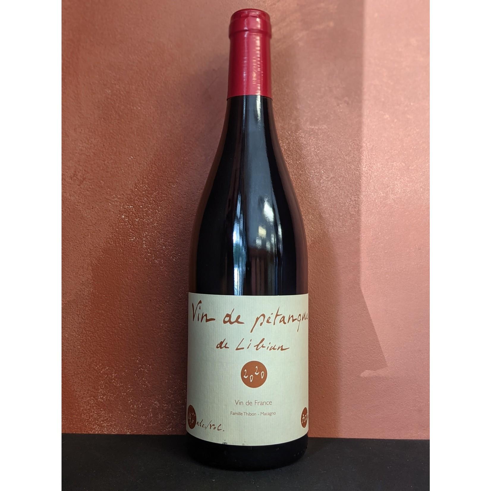 """2020 Grenache/Syrah, Mas de Libian """"Vin de Pétanque"""""""