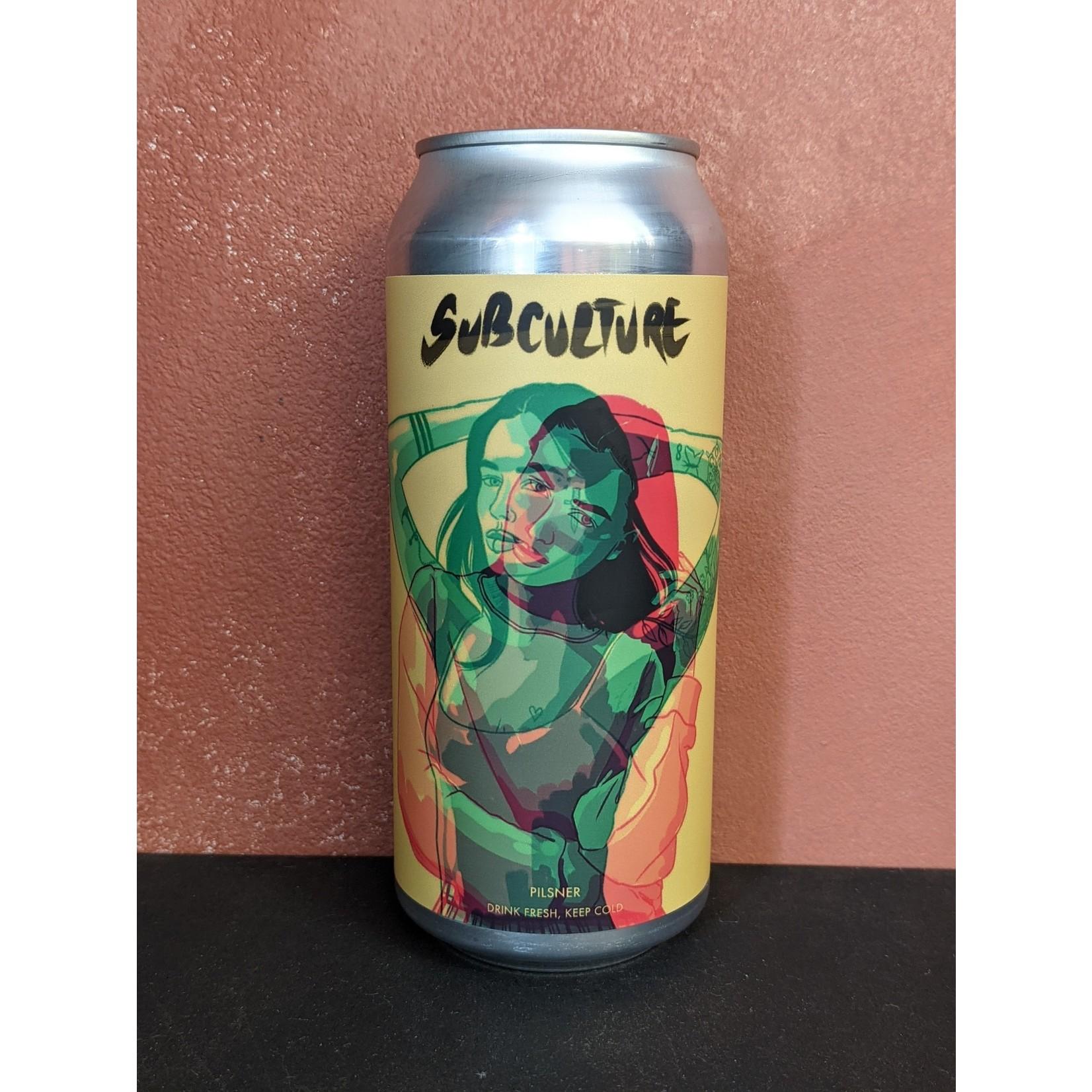 "Branch + Blade ""Subculture"" Czech Pils CAN"