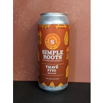 """Simple Roots """"Tmave Pivo"""" Dark Czech Lager CAN"""