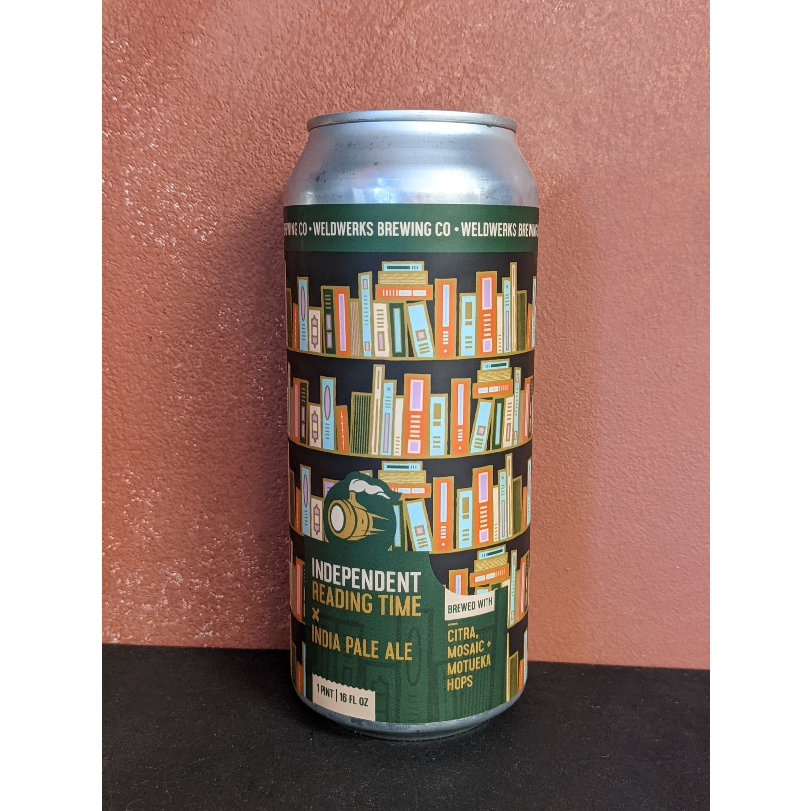 """Weldwerks """"Independent Reading Time"""" IPA CAN"""