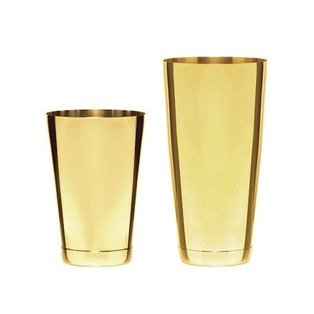 Gold Boston Shaker (2pieces)