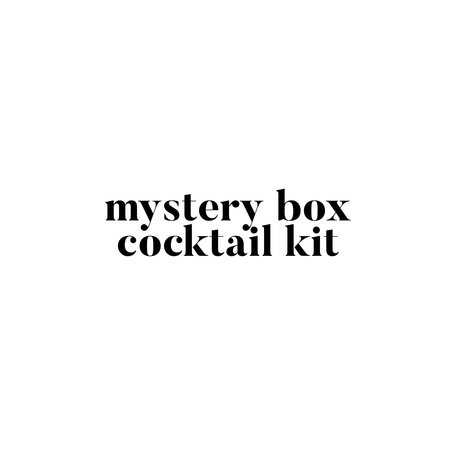 Mystery Box Cocktail Kit