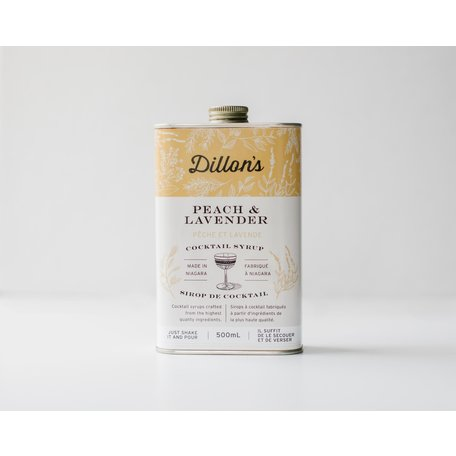 Dillon's Peach & Lavender Cocktail Syrup