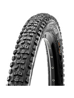 """MAXXIS Maxxis Aggressor Tire 27.5 x 2.5"""" 60tpi Dual Compound EXO Casing Tubeless Ready, Black"""