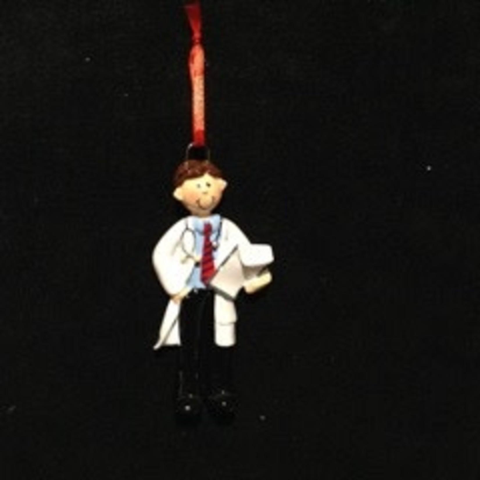 Doctor Man Ornament