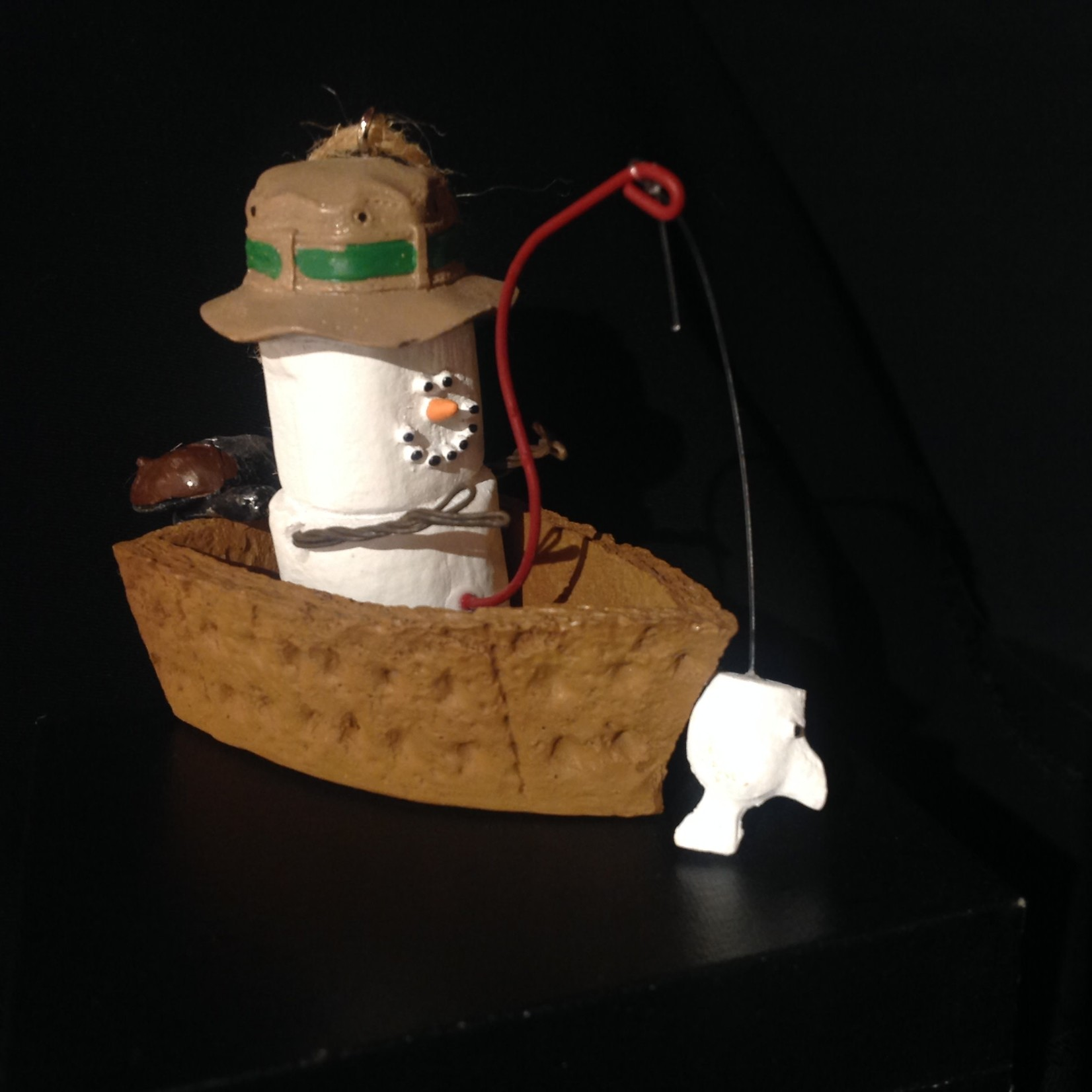 S'Mores in Fishing Boat