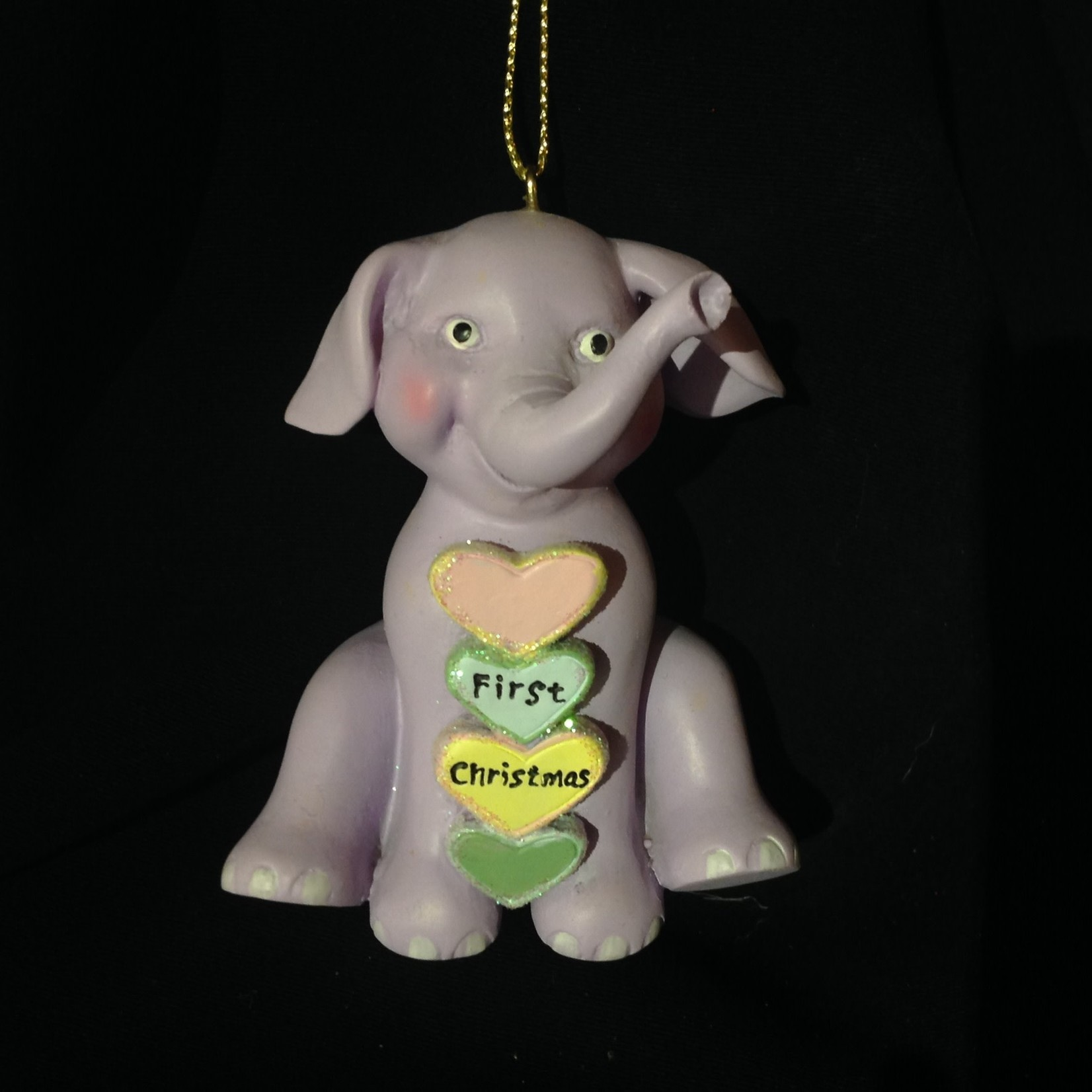 Baby's First Elephant Orn