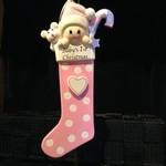 **Baby Long Stocking - Pink