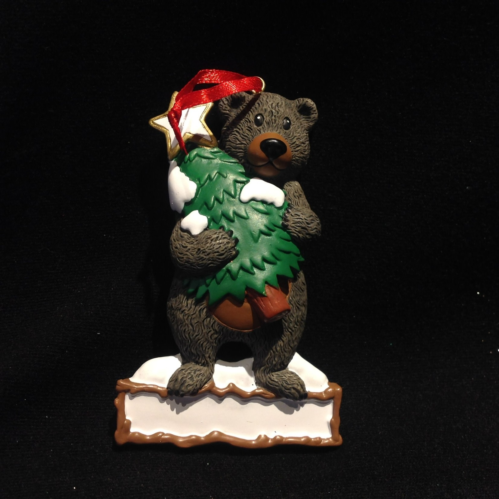 Black Bear w/Tree Orn