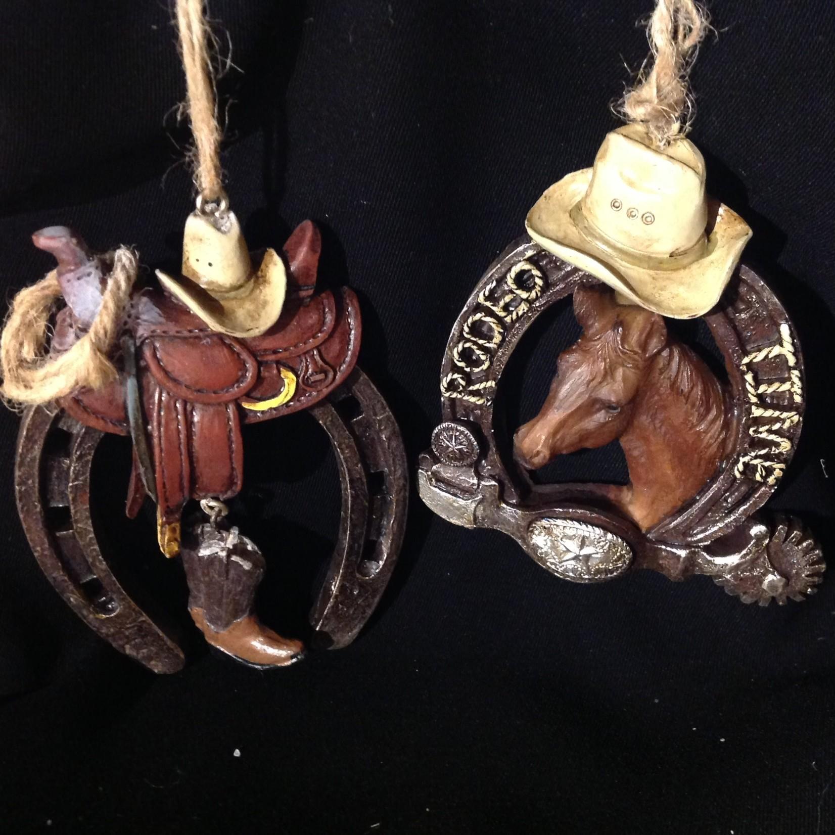 Horseshoe w/Decor Orn 2A