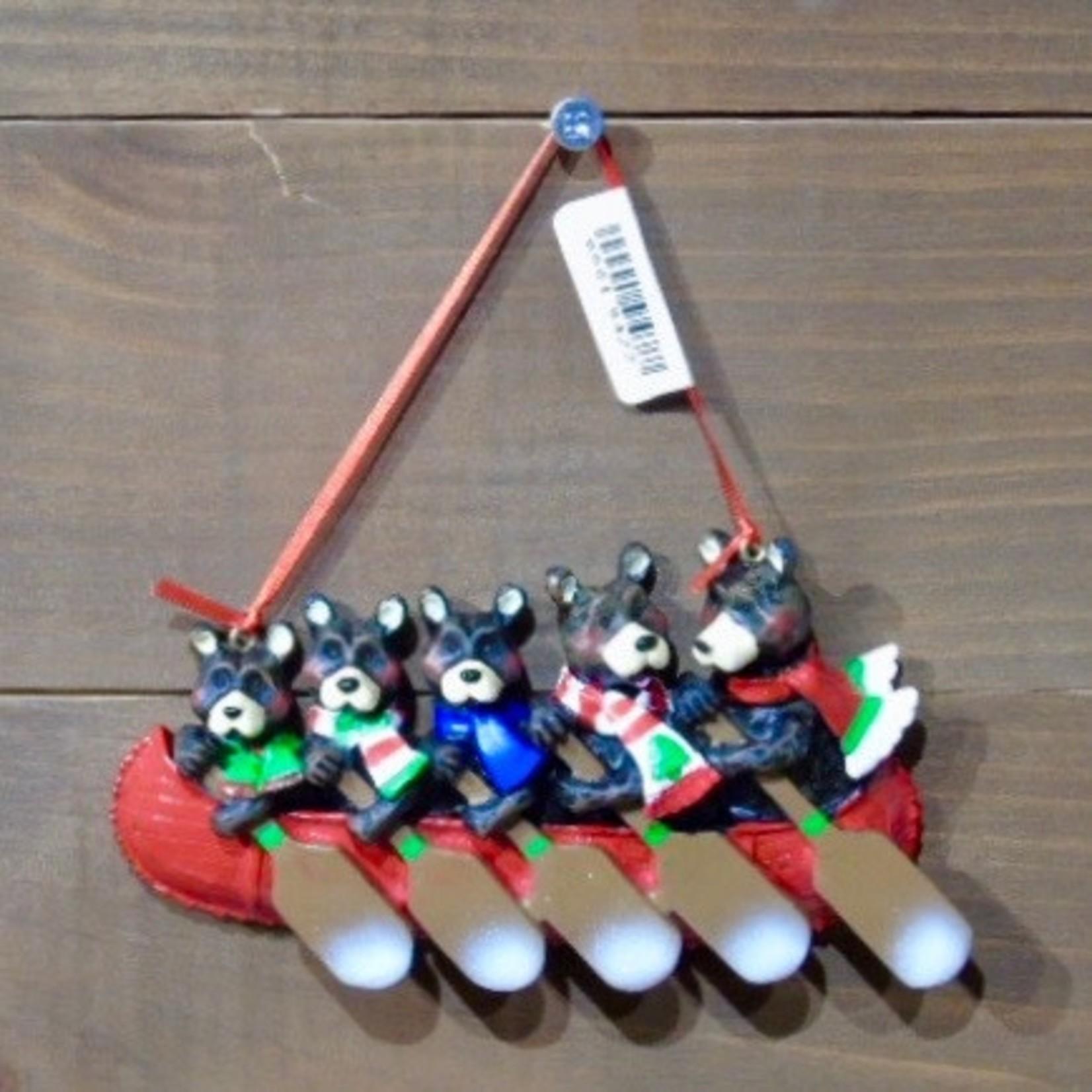 5 Bear Canoe Family