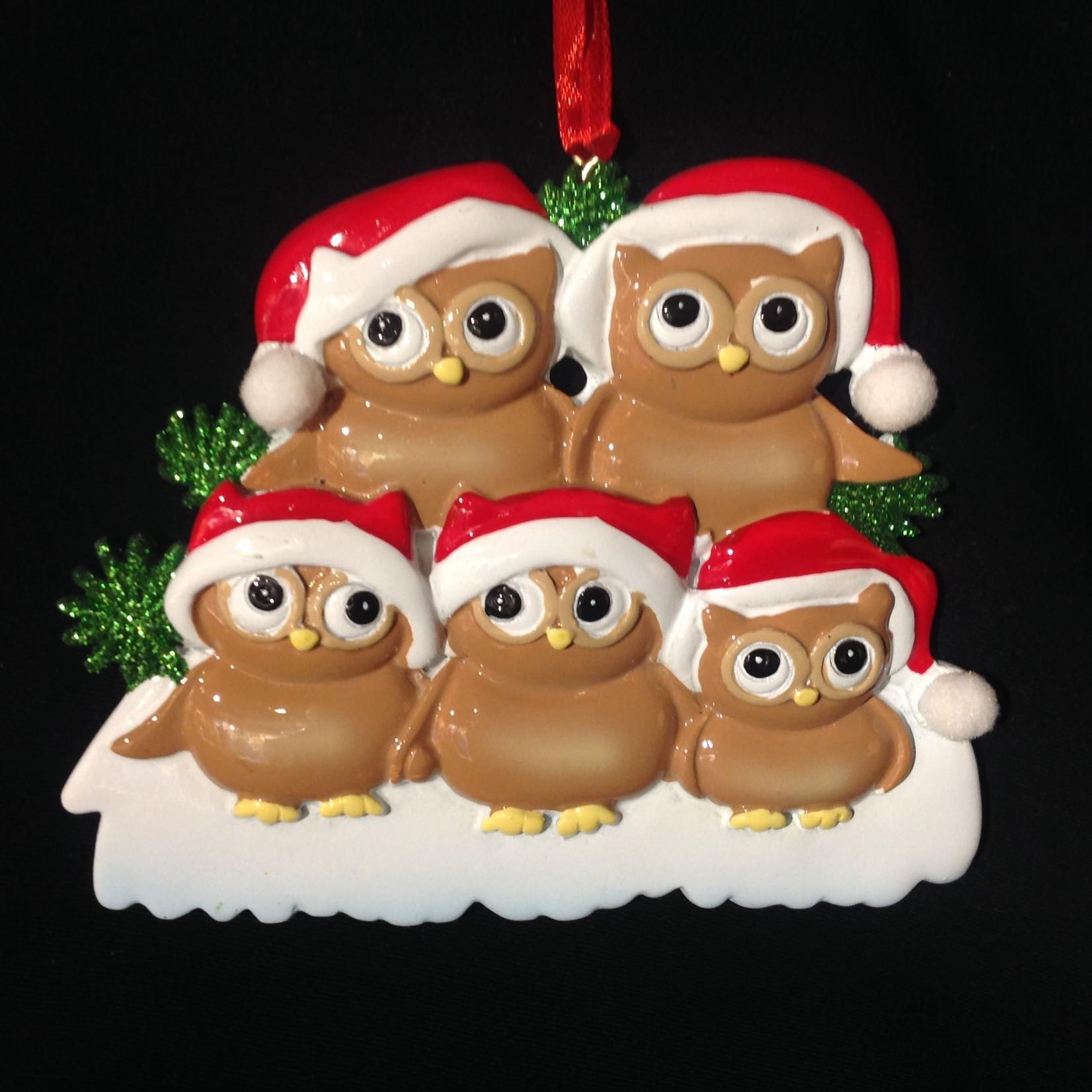 Owl Family 5