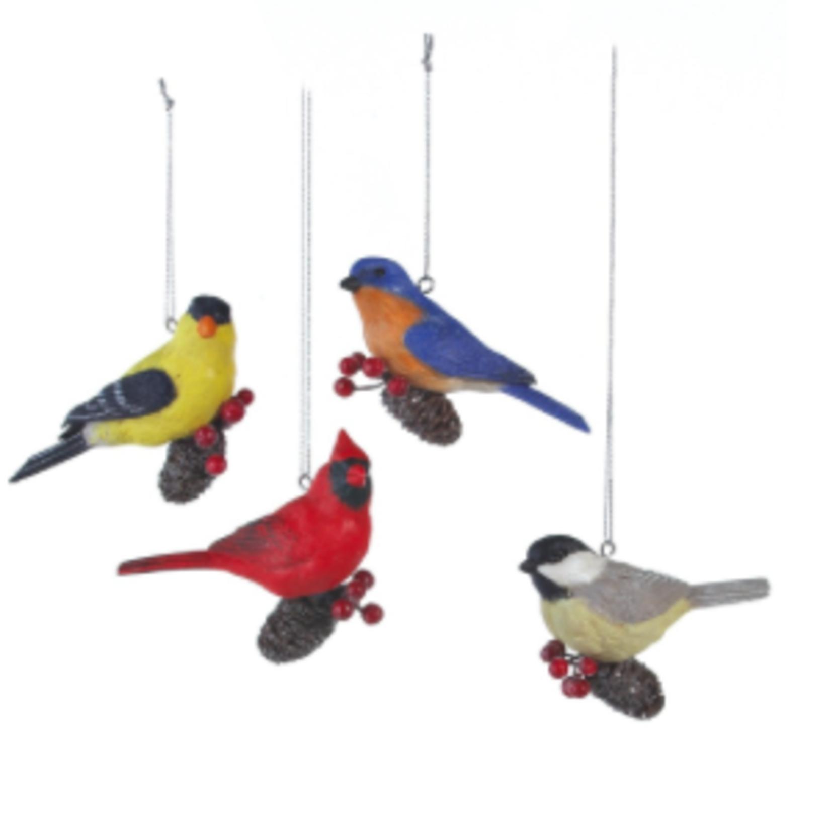 **Bird Pinecone 4A (Cardinal & Finch S/O)