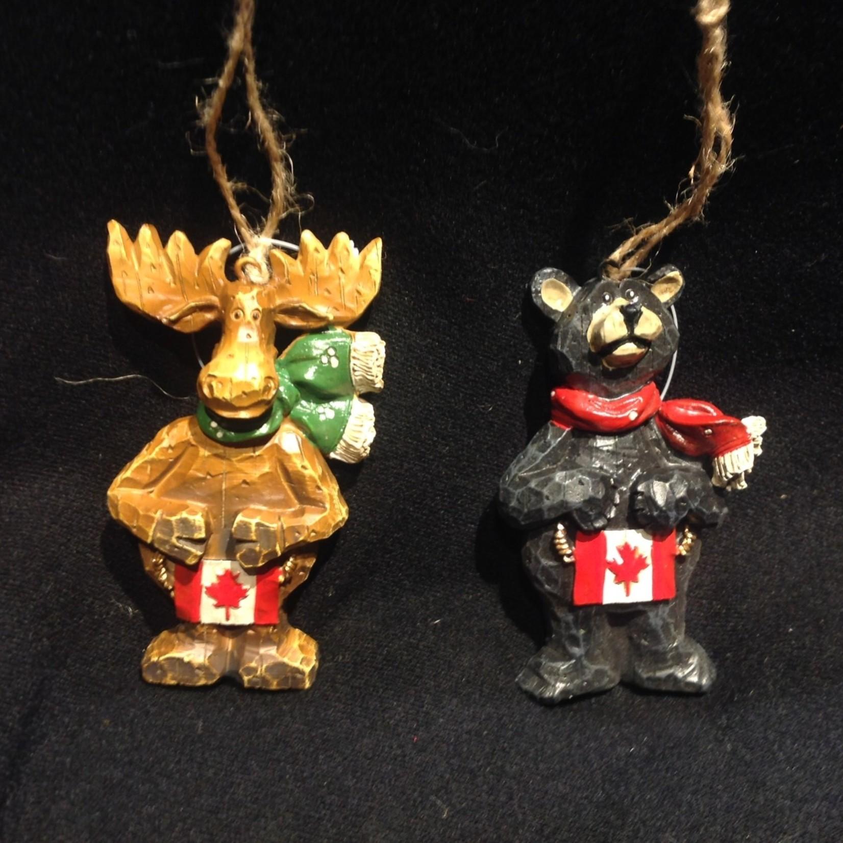 Bear w/Canada Flag