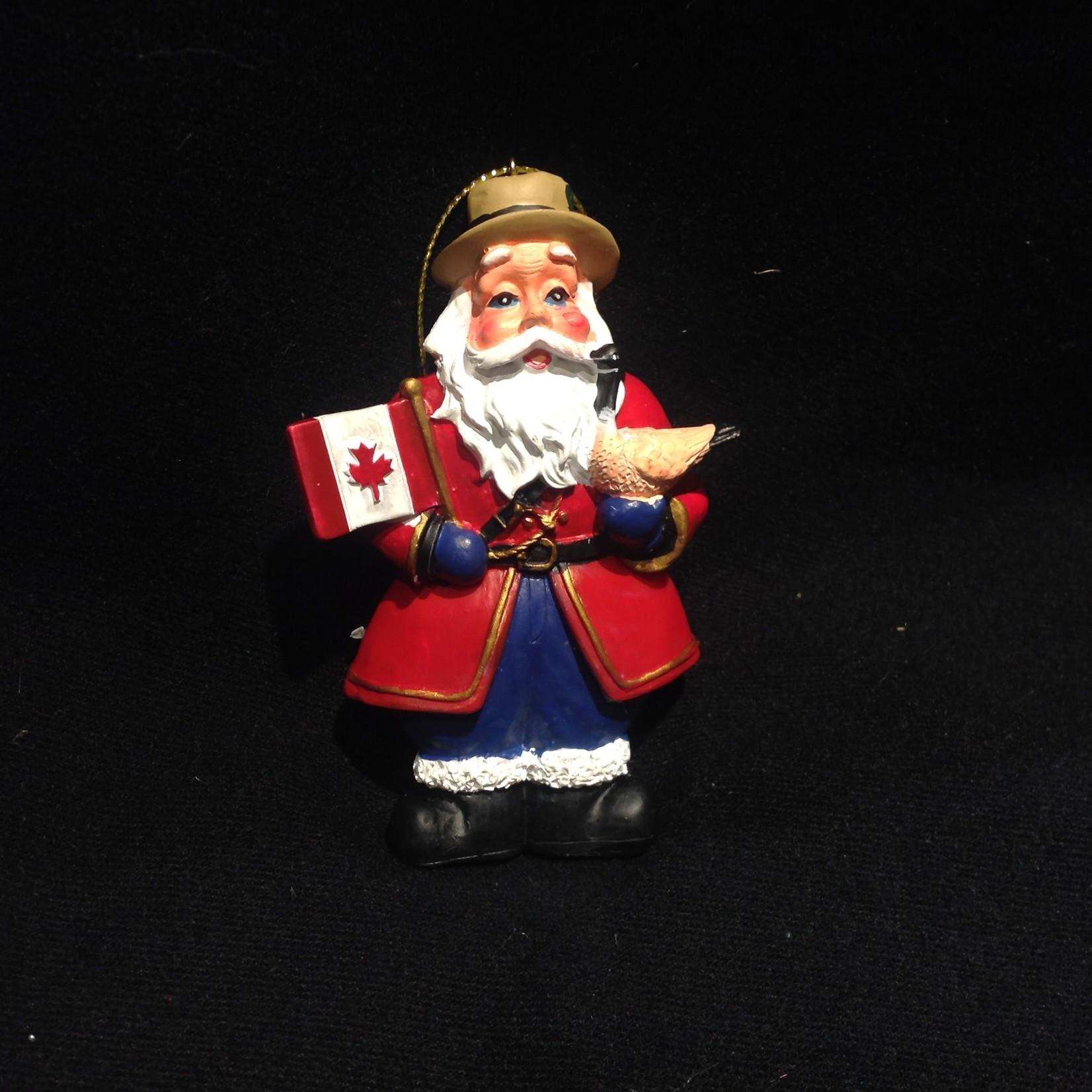 Santa w/Canadian Flag