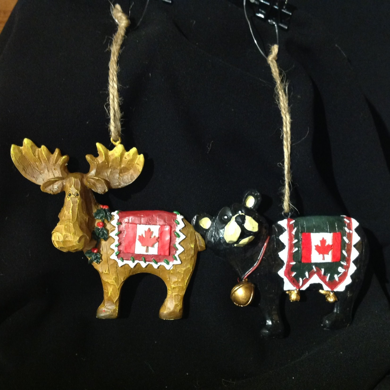 Moose/Bear w/Canadian Flag 2A (Moose Sold Out)