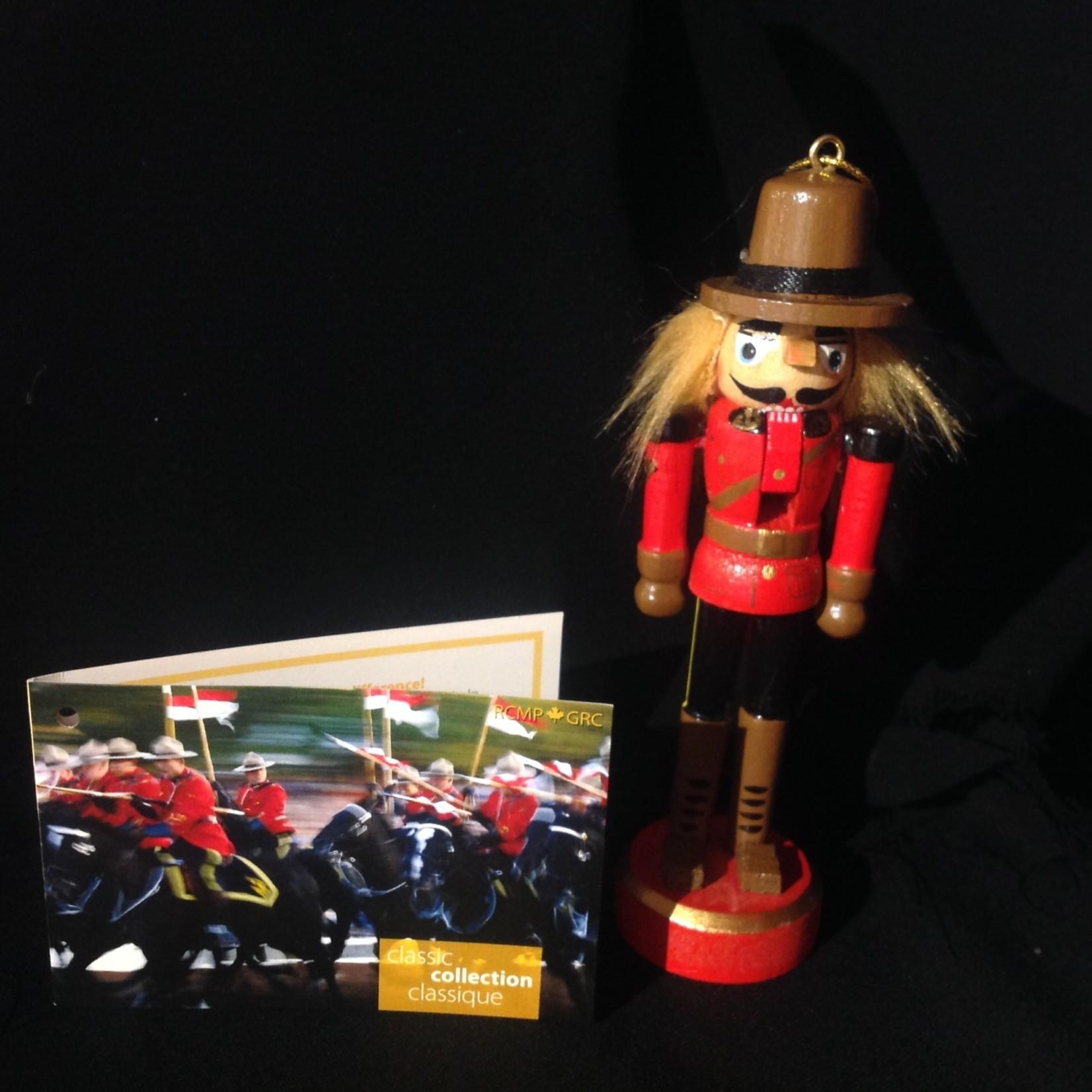 RCMP Nutcracker Ornament