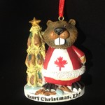 Christmas Eh Beaver Ornament