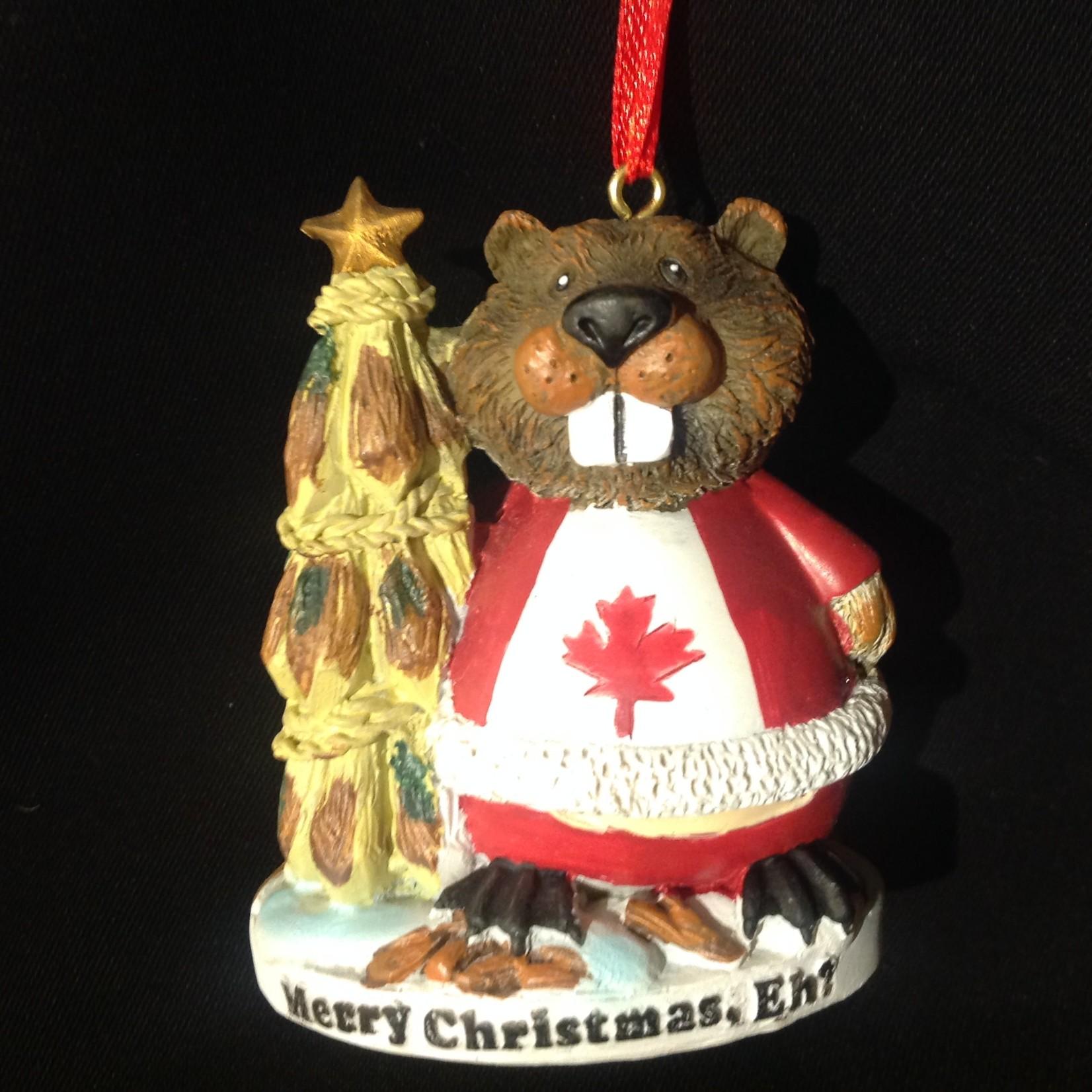 Christmas Eh Beaver Ornament