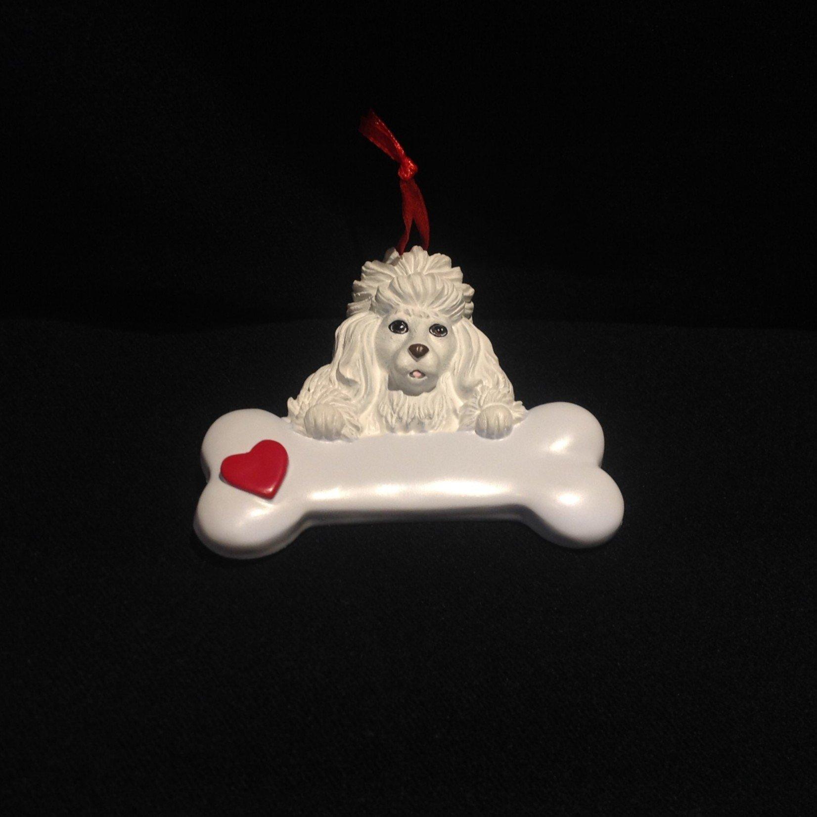Poodle - White