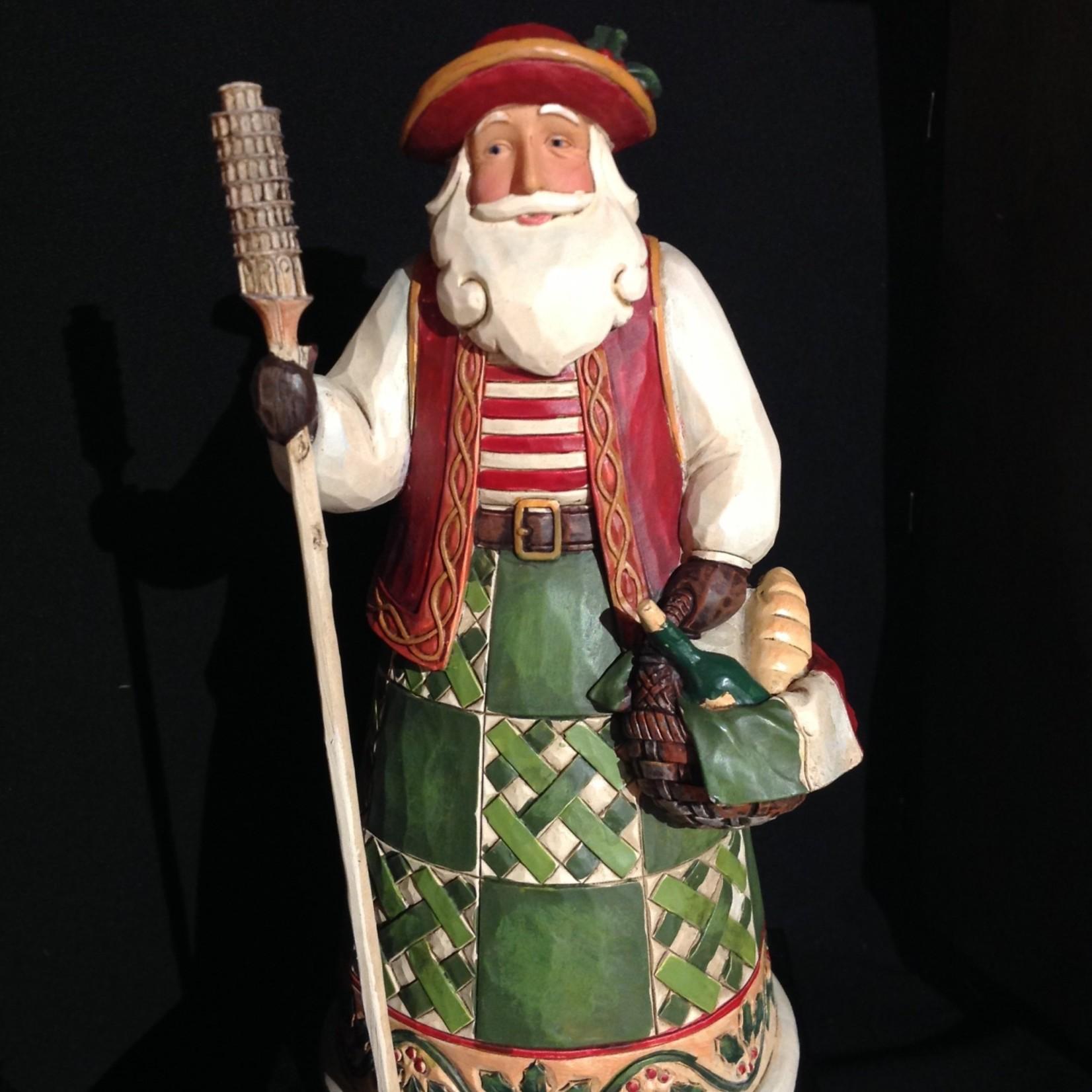 """Jim Shore - 7"""" Italian Santa"""