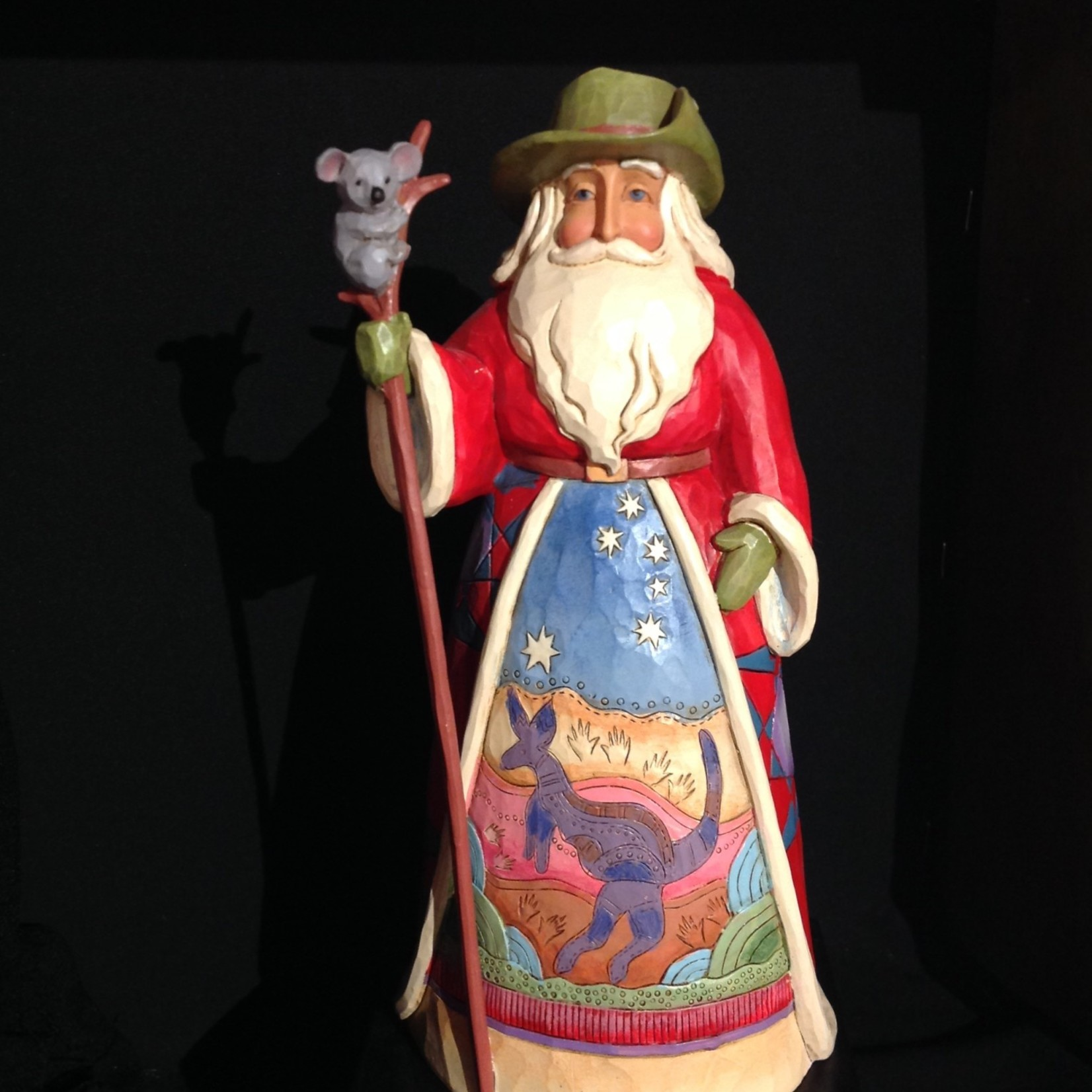 "Jim Shore - 7.25"" Australian Santa"