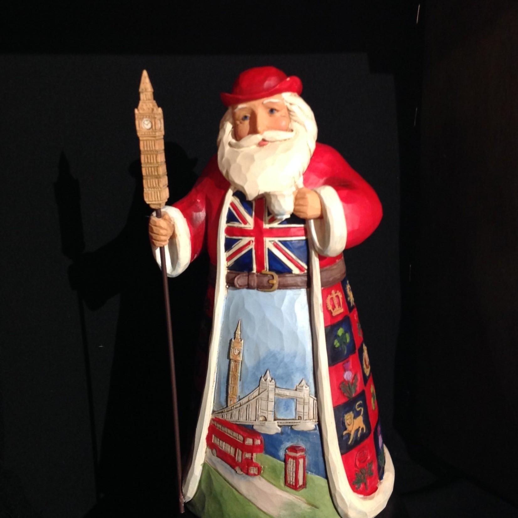 """Jim Shore - 7"""" British Santa"""