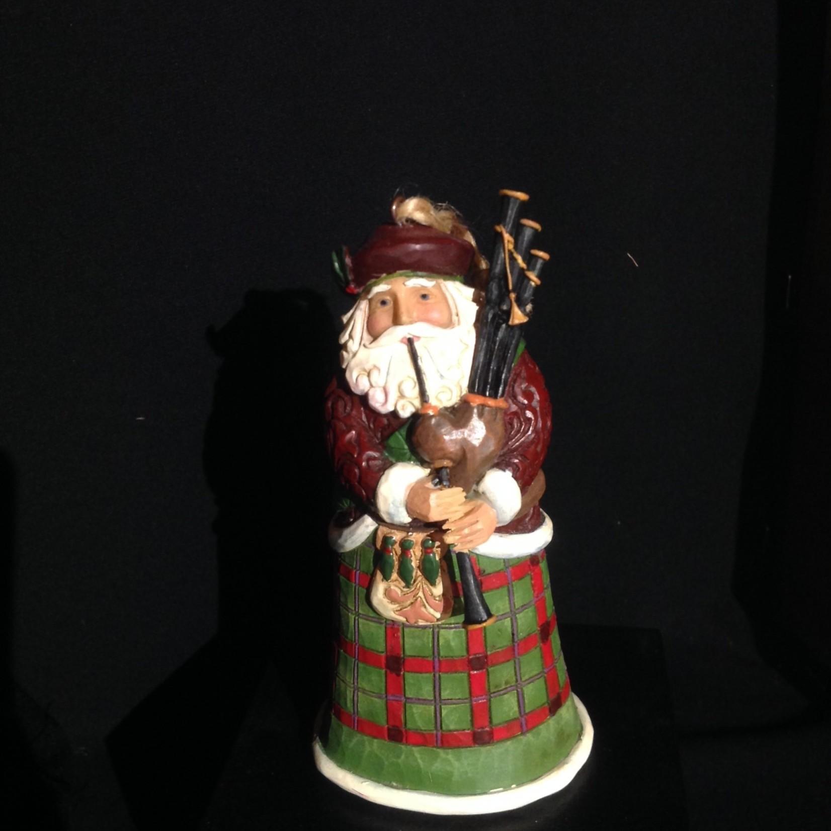 """Jim Shore - 4.5"""" Scottish Santa Orn"""