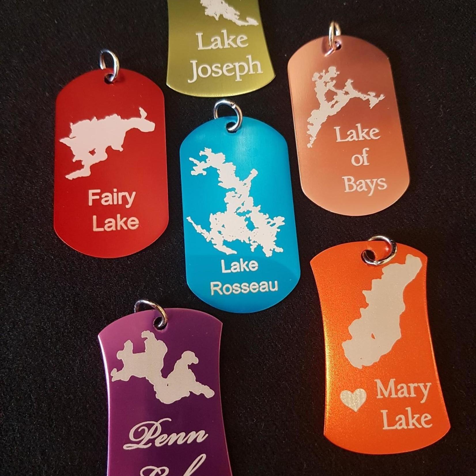 Custom Lake Pendant - Asst'd