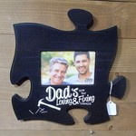 Puzzle Plaque - Black (4x6 Photo)
