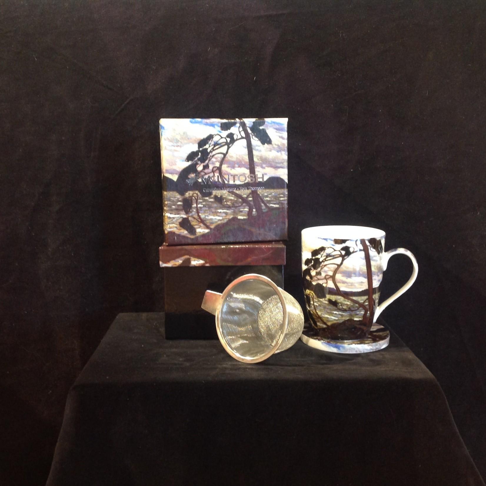 West Wind Tea Mug w/Lid