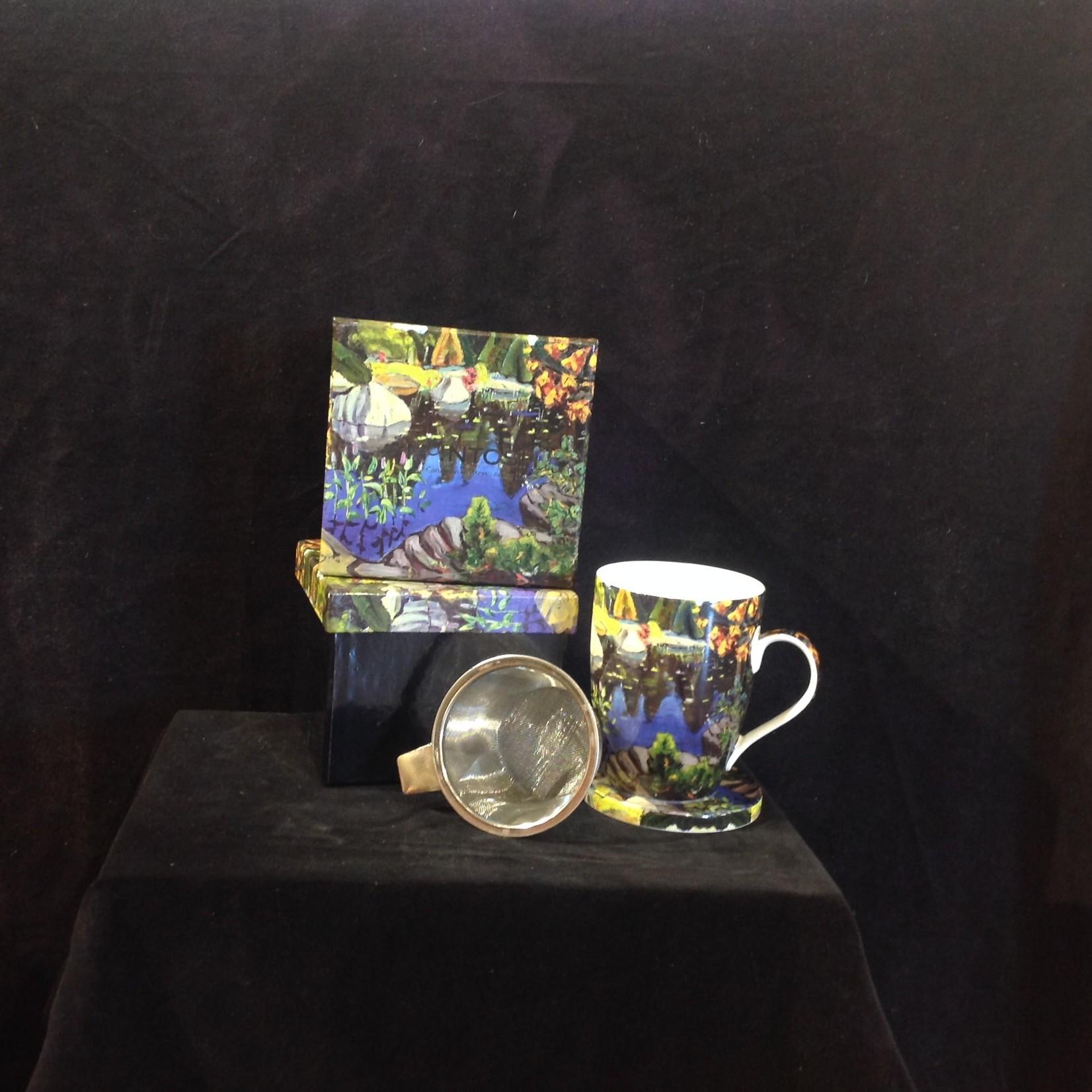Lismer, Lily Pond Tea Mug