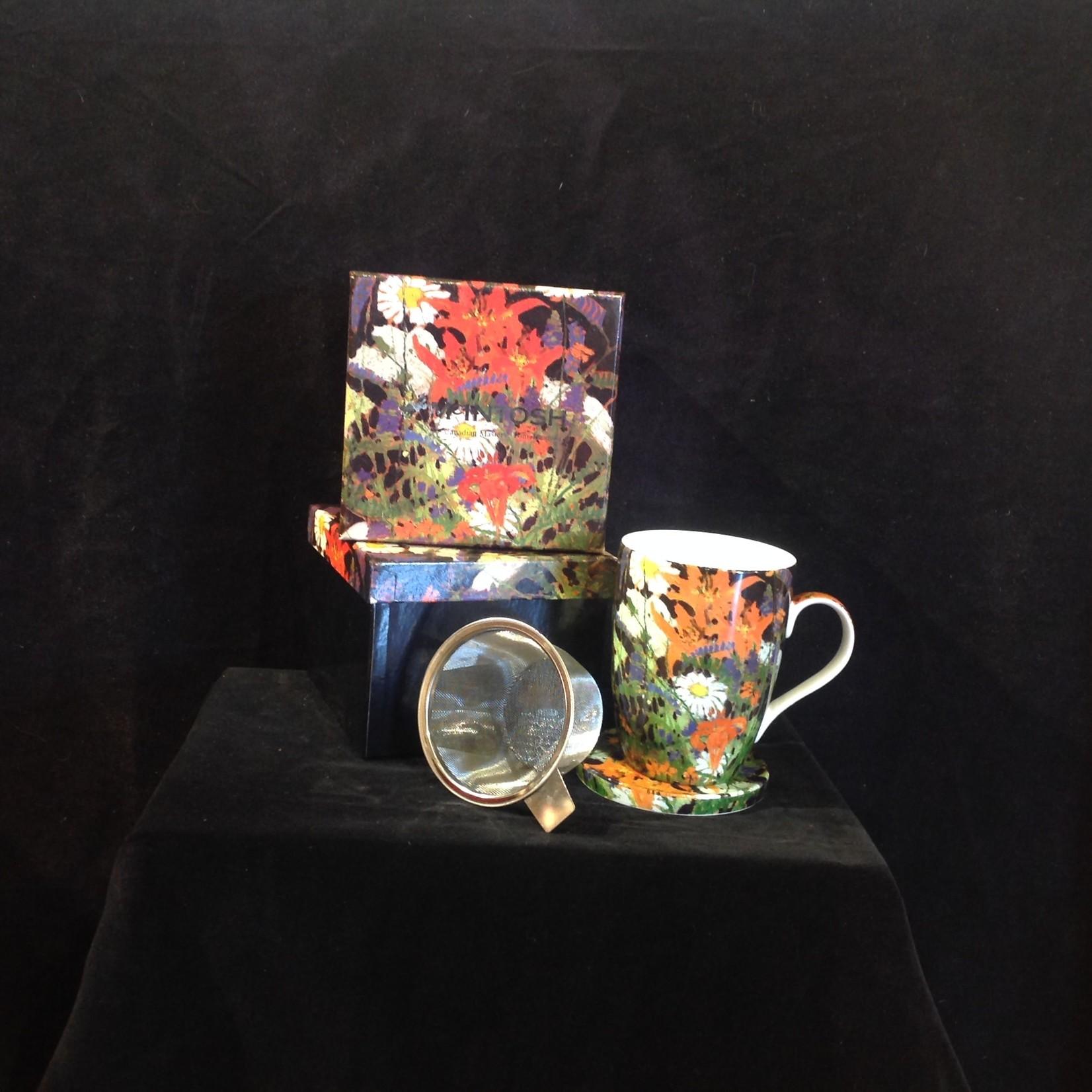 Tom Thomson Marguerites Tea Mug