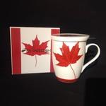 Memories of Canada Tea Mug w/Lid