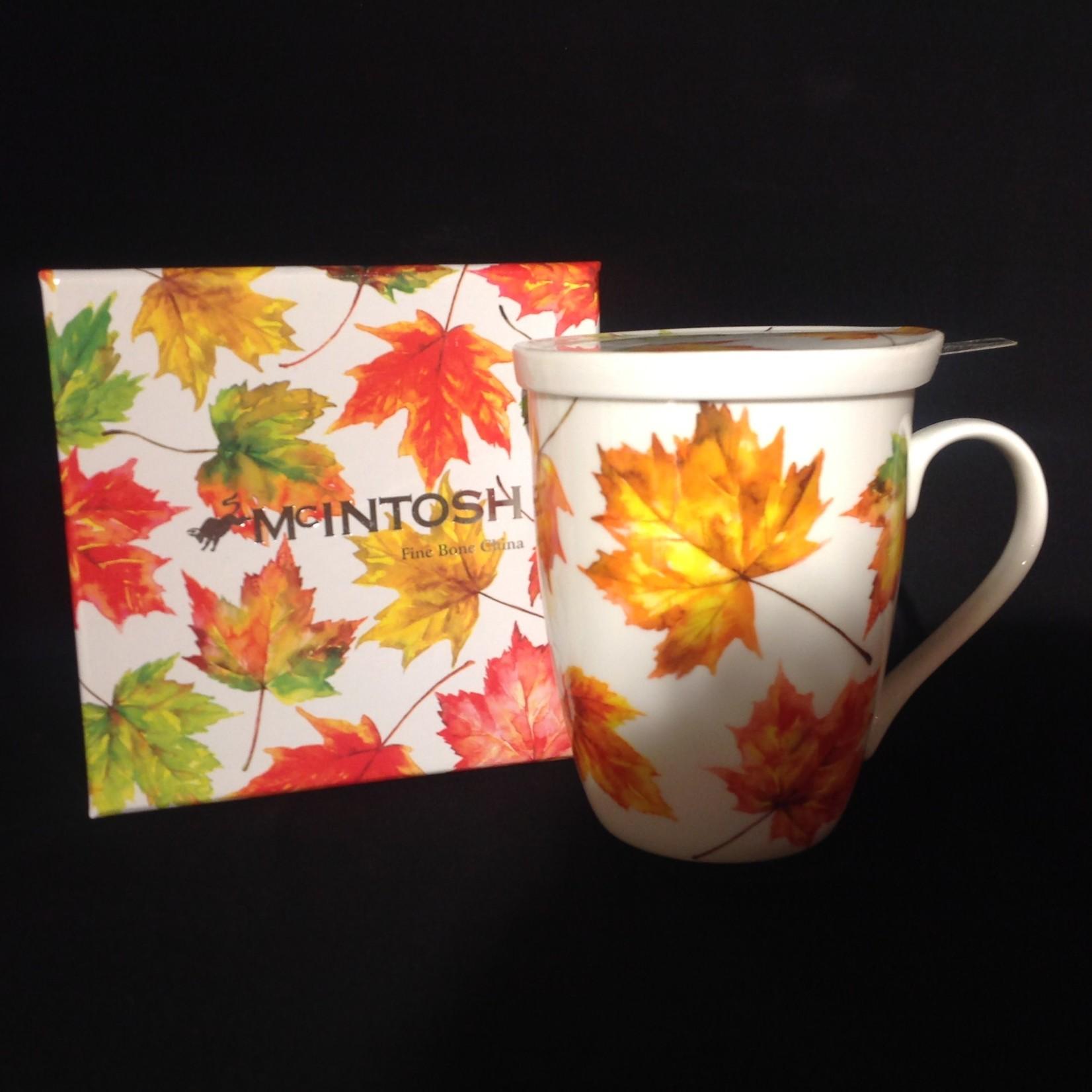 Maple Leaf Forever Tea Mug w/Lid