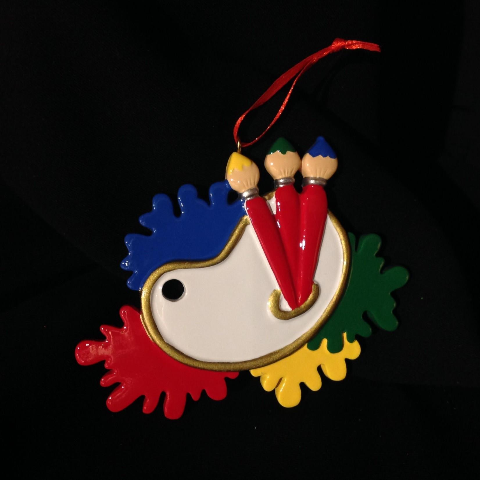 Art Palette Ornament