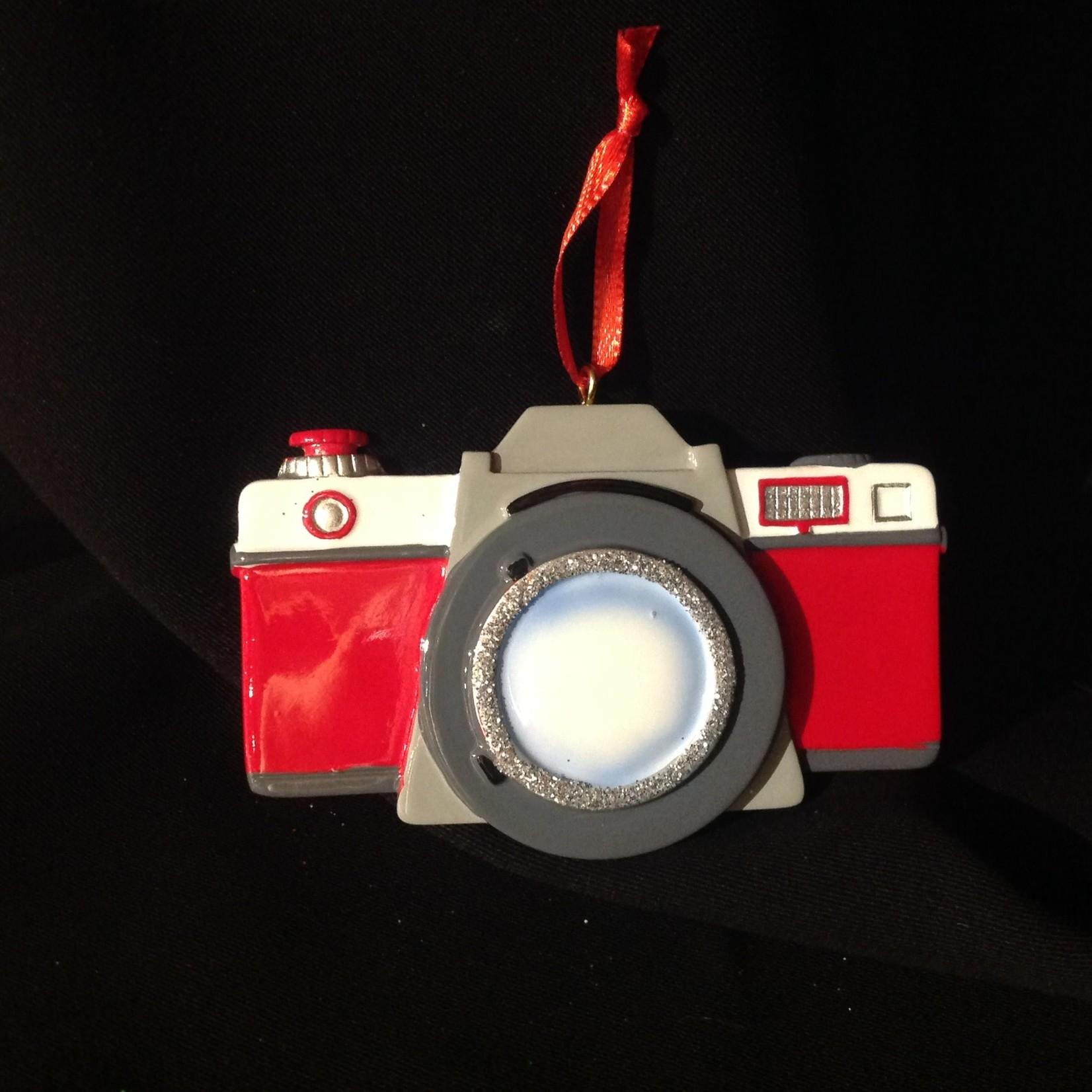 **Personalized Camera Ornament
